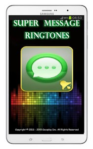 Message Ringtones screenshot 4