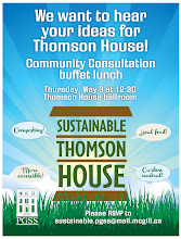 Photo: Poster for sustainable practices meeting