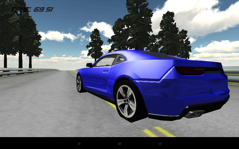 Скриншот Muscle Car Racing 3D