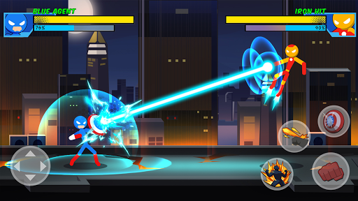 Stick Super: Hero - Strike Fight for heroes legend 1.0.9 screenshots 1
