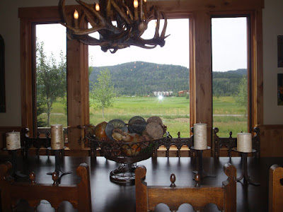 Teton Valley Vacation Rental Victor, Idaho - Dining Room View