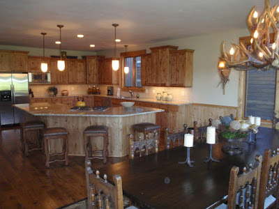 Teton Valley Vacation Rental Victor, Idaho - Dining Room - Kitchen