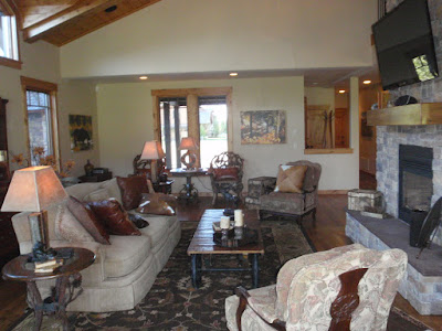 Teton Valley Vacation Rental Victor, Idaho - Great Room