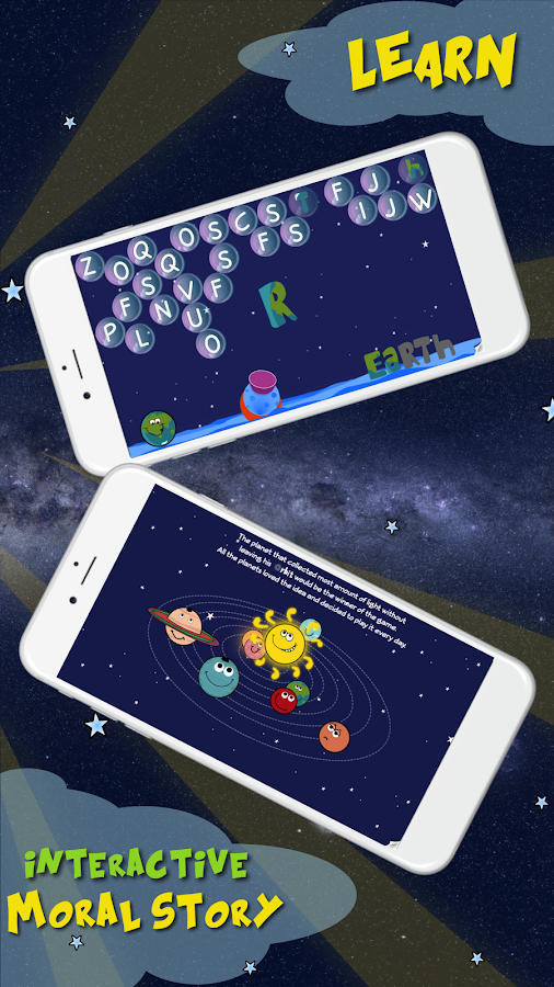 Solar Family - Planets of Solar System for Kids- screenshot
