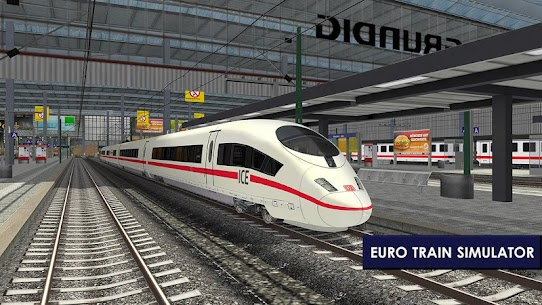 Euro Train Simulator 2 1.0.5.6 Apk Mod (Unlocked) Download 2018 4