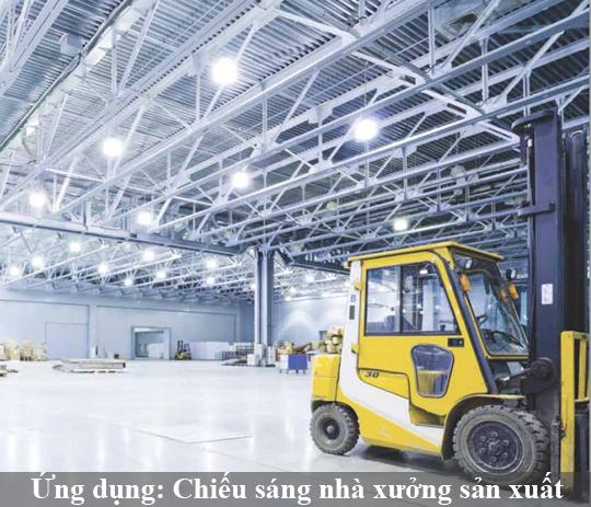 Ứng dụng đèn led trong lĩnh vực công nghiệp