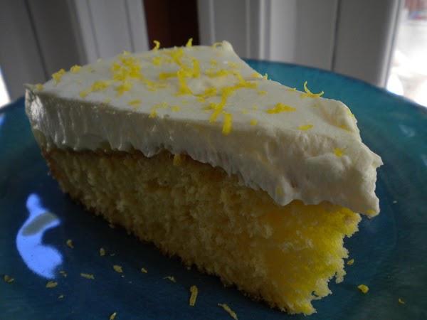 Cool Summer Lemon Cake Recipe