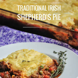 Traditional Irish Shepherd's Pie.