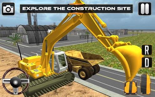 Sand-Excavator-Crane-Sim 1