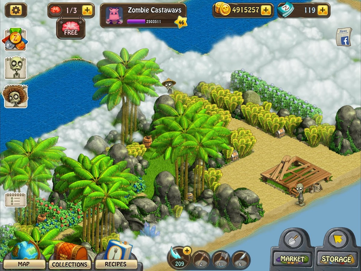 Zombie Castaways- screenshot
