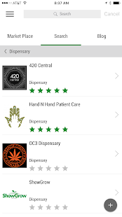 dispensaries.com- screenshot thumbnail