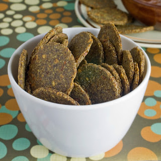 Fast Savoury Flax Crackers