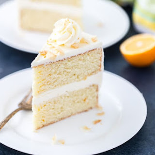 Meyer Lemon Coconut Cake.