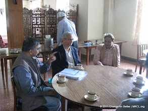 """Photo: Eminent thinkers from various parts of India met at Panchgani, Mahabaleshwar near Pune to discuss on Change for Better, a quarterly thought journal with a motto """"Better World Through Better People"""". Mr. Abhay Vaidya, Mr. Bhanu Kale and Dr. Dabholkar"""