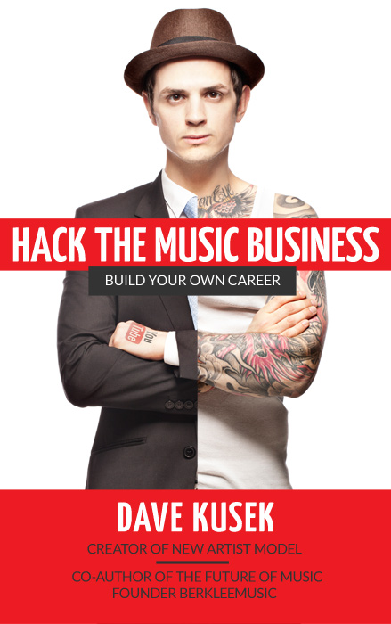hack the music business book cover