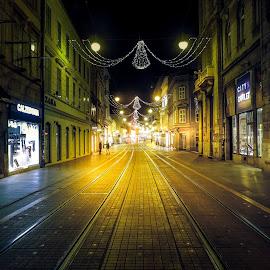 by Ksenija Bauer - City,  Street & Park  Street Scenes
