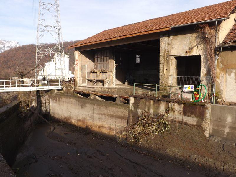 La centrale dite du Moulin de Jarrie