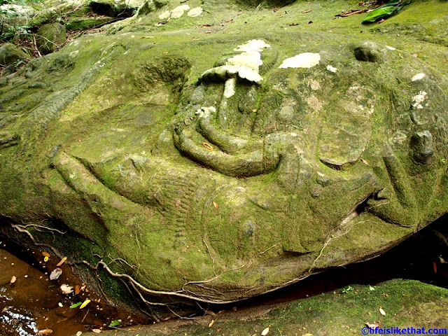Stone Carvings at Kbal Spean picture cambodia escapade  photo