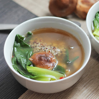 Asian Quinoa Broth Bowl