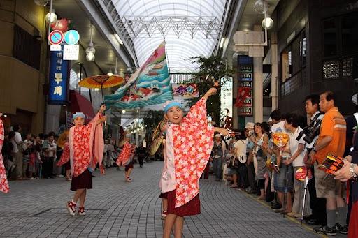 本祭2日目 帯屋町筋演舞場  119     D-16131