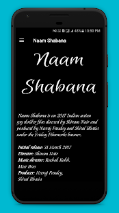 Naam Shabana Movie Songs - náhled