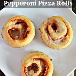 Pepperoni Pizza Rolls Recipe using Crescent Rolls