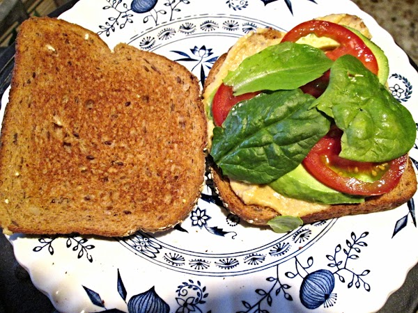 Almathea's Veggie Sandwich Recipe