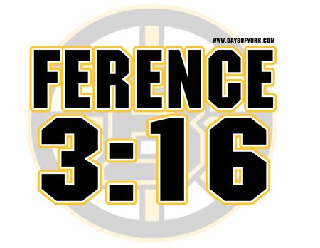 Andrew Ference 3:16 finger