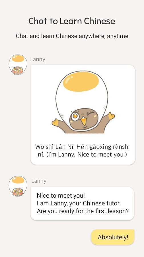 Chat to Learn Chinese- screenshot
