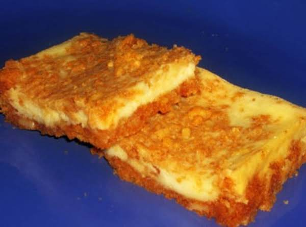 Butterscotch Cheesecake Bars Recipe
