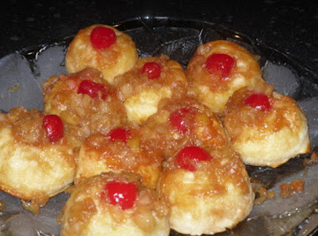 Quick & Easy Pineapple Upsidedown Biscuits Recipe