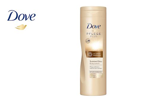 Bild für Cashback-Angebot: Dove PFLEGE PLUS Summer Glow Body Lotion - Dove