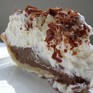 Frozen Chocolate Cream Pie Recipes