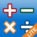 AB Math lite - games for kids icon