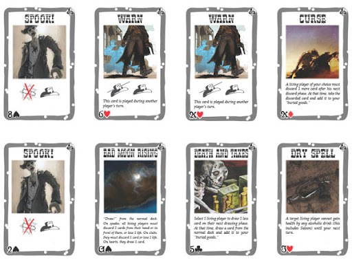 Death Mesa Screenshot of Card Sheets 2