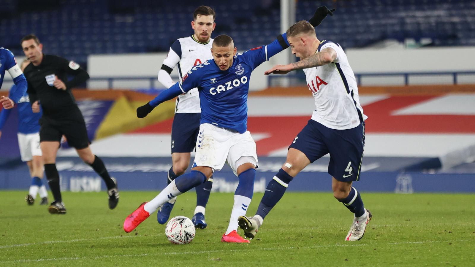 Everton đã thắng Tottenham ở cả 2 lần gặp nhau mùa này.