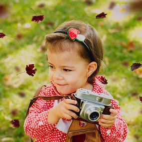 A little photographer by Petya Dimitrova - Babies & Children Children Candids