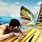 Angry Whale Shark Hunter - Raft Survival Mission