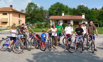 Photo: Partenza in bici per fare il pic nic