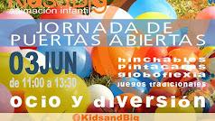 Animación infantil en las Jornadas de Puertas Abiertas de Kids and Big