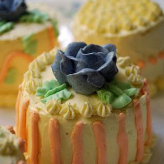 Mango Cakes (mini version)
