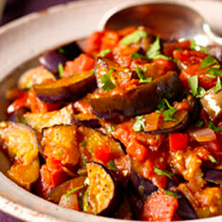 Eggplant and Tomato Stew (Guiso de Berenjena)