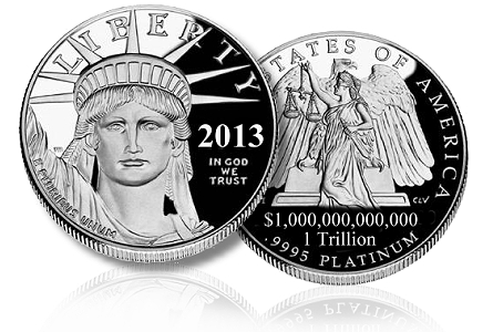 Image result for trillion dollar coin