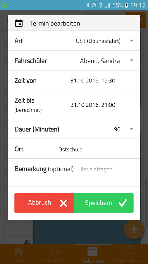 YOU-DRIVE Manager – Screenshot