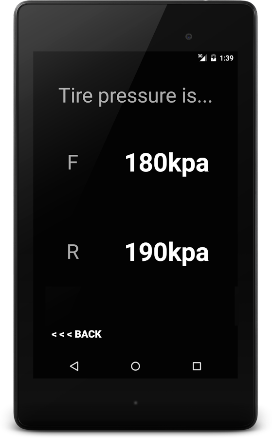Tire Pressure for Plus Sizing- screenshot
