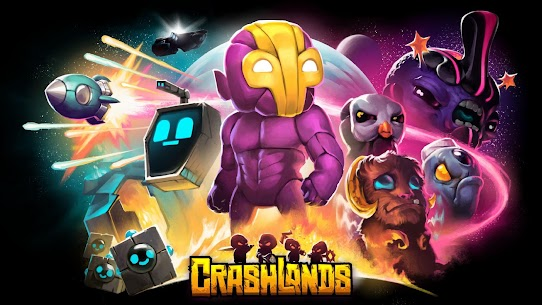 Crashlands MOD (Unlimited Resources) 1
