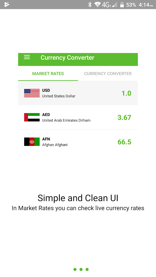 Live all currency converter real time rates- screenshot