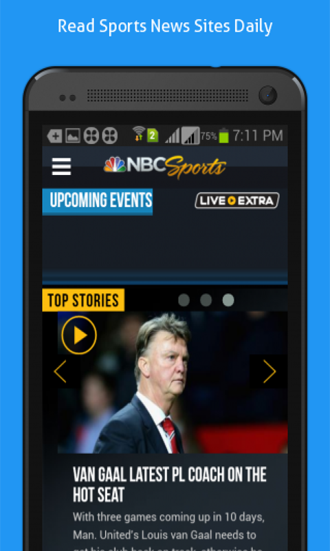 Daily Online News for Sports- screenshot