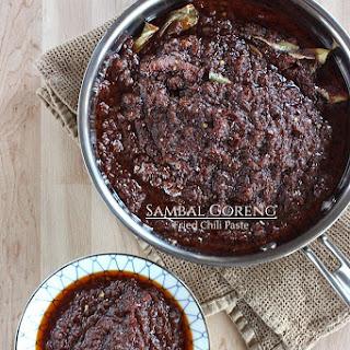 Sambal Goreng - Fried Chili Paste Recipe