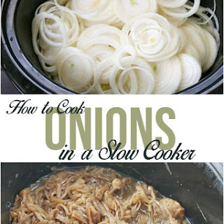 The Easy Way to Cook Onions in A Slow Cooker.